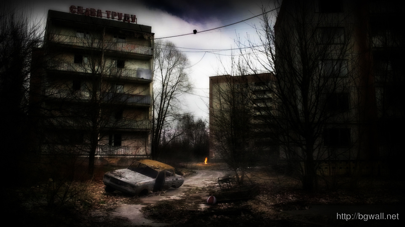 Abandoned Russian City Wallpaper 5313 Full Size