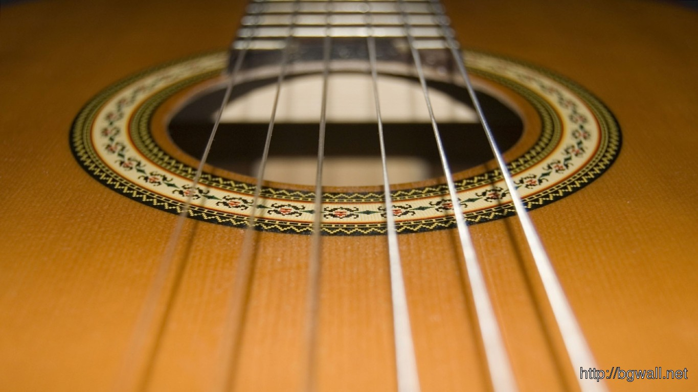 Acoustic Guitar Wallpaper 3347 Full Size