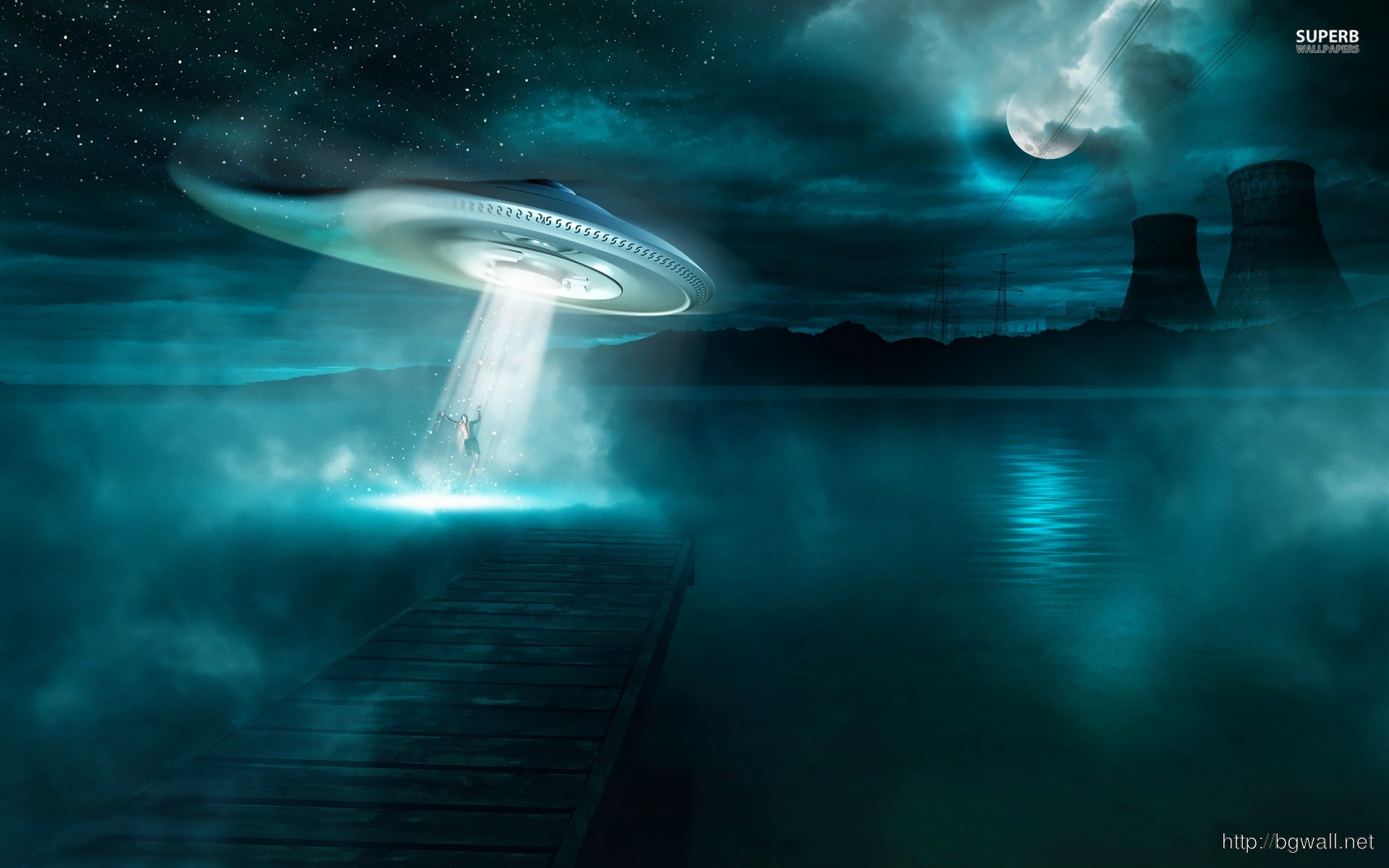 Wallpaper Alien Abduction – Background Hd