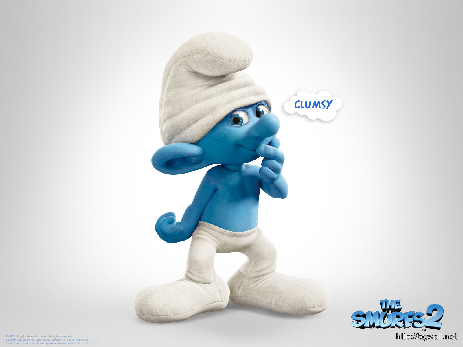 Anton Yelchin Clumsy In The Smurfs 2 Wallpaper Full Size