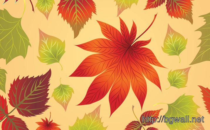 Autumn Leaves Full Size