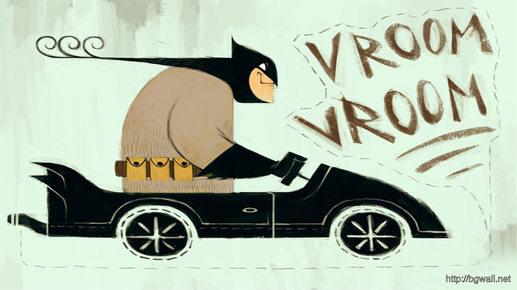 Batman In The Batmobile Wallpaper 5416 Full Size