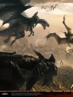 Battle Dragons Full Size