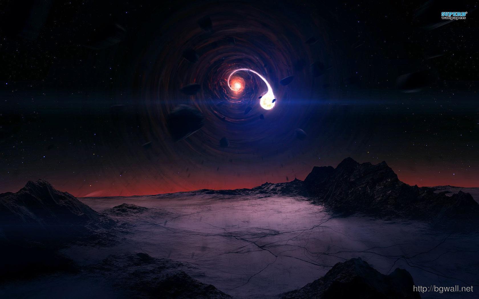 Black Hole Wallpaper Full Size