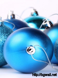 Blue Christmas Balls Wallpaper 8060 Full Size