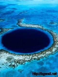 Blue Hole Lighthouse Reef Belize Full Size