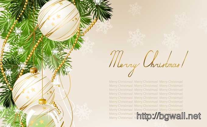 Christmas Background Vector Full Size