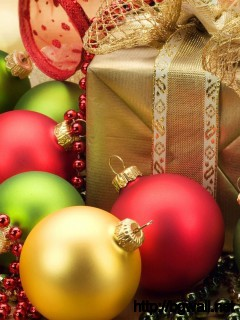 Christmas Ornaments Wallpaper 13338 Full Size