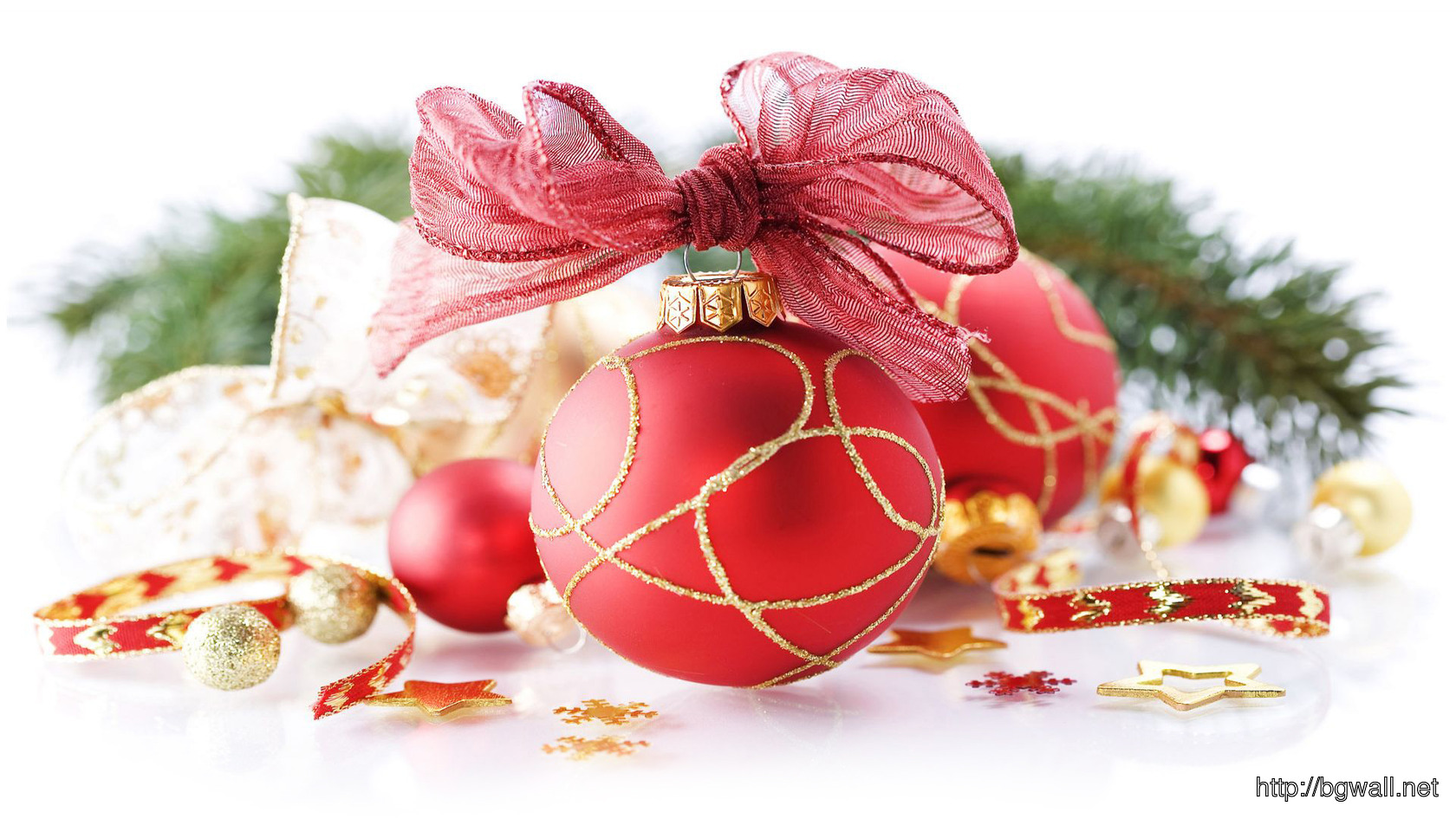Christmas Ornaments Wallpaper 8059 Full Size