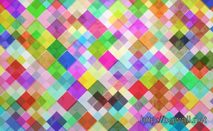 Colourful Tiled Background Full Size