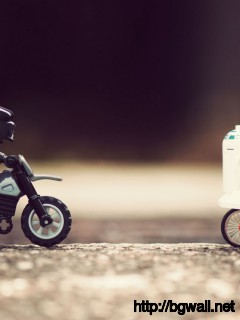 Darth Vader Chasing Luke And R2 Full Size