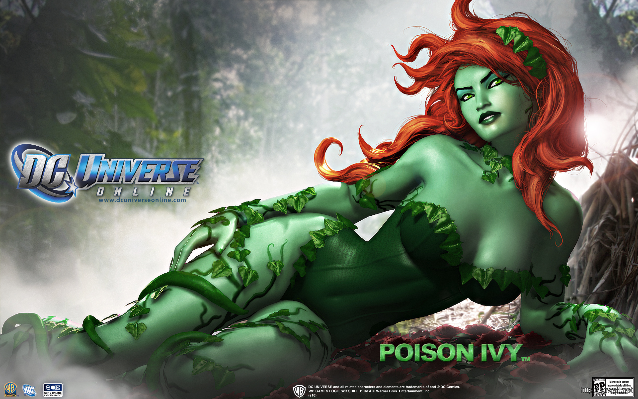 Dc Universe Poison Ivy Hd Wallpapers Full Size