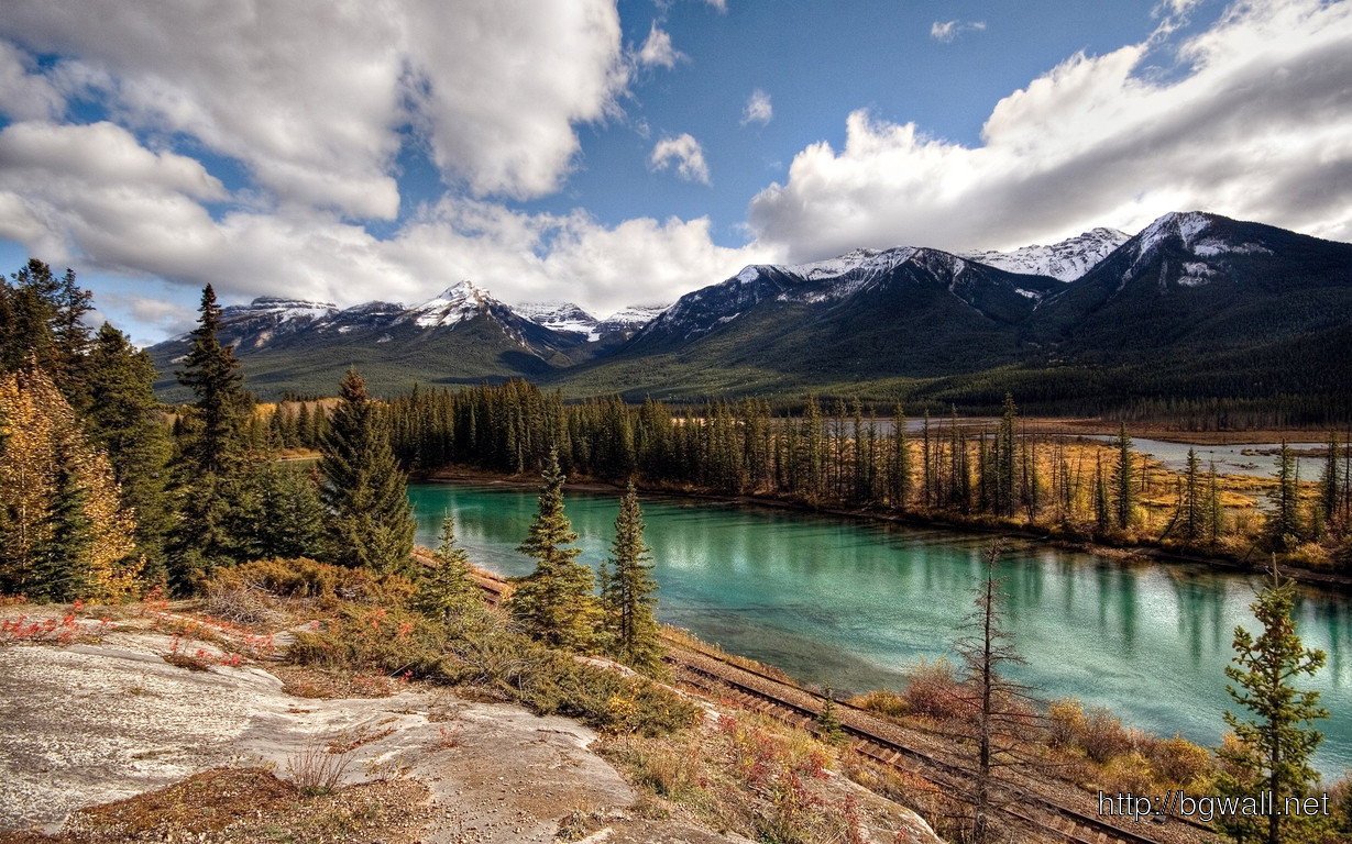 Download Banff National Park Canada Wallpaper Full Size