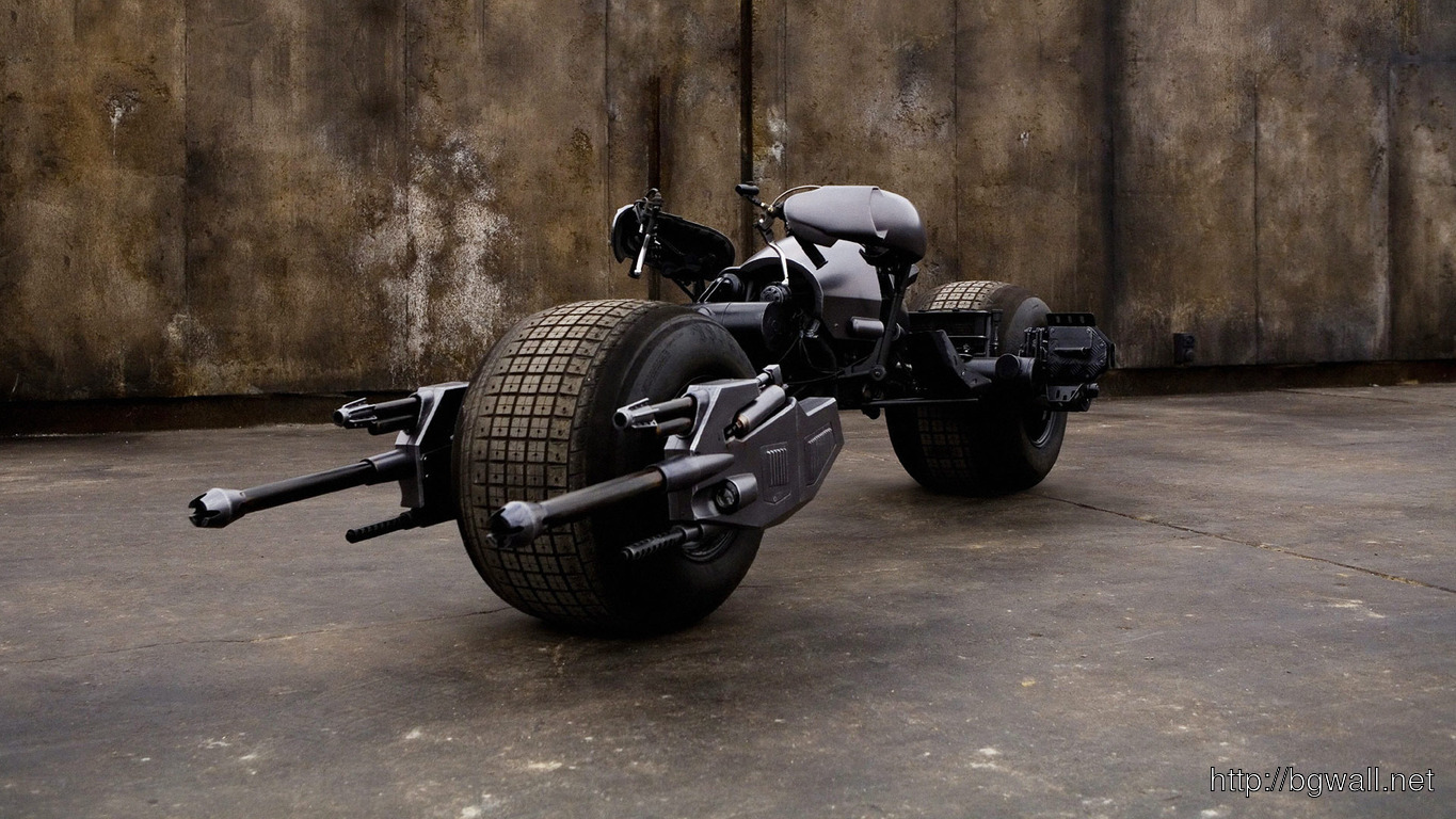 Download Batcycle Wallpaper Full Size