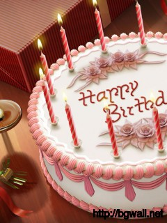Download Birthday Cake Wallpaper Full Size
