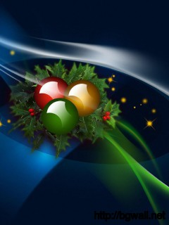 Download Christmas Wreath Wallpaper Full Size