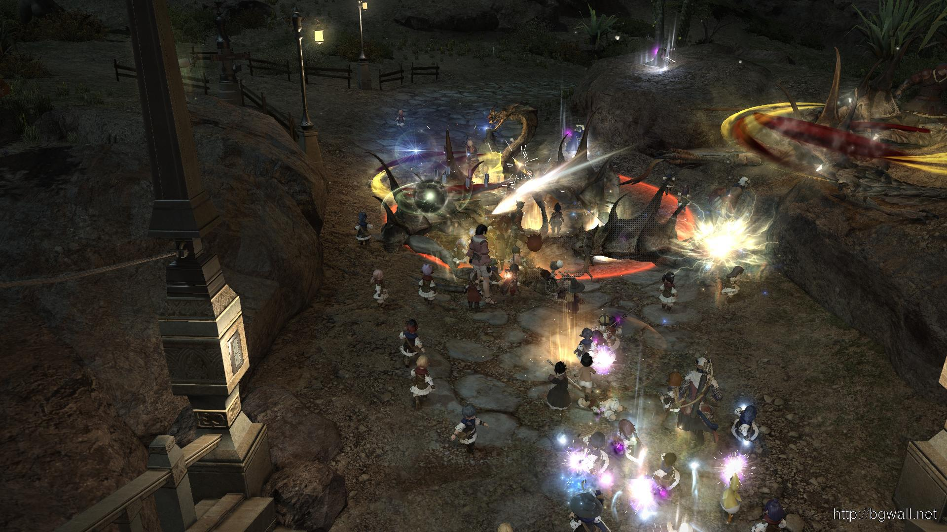 Download Final Fantasy Xiv Game Screen Widescreen High Resolution Full Size