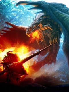 Download Fire Breathing Dragon Wallpaper Full Size