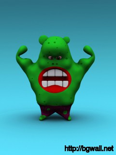 Download Green Monster Wallpaper Full Size