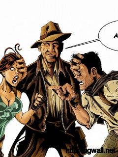 Download Indiana Jones Lara Croft And Nathan Drake Wallpaper Full Size