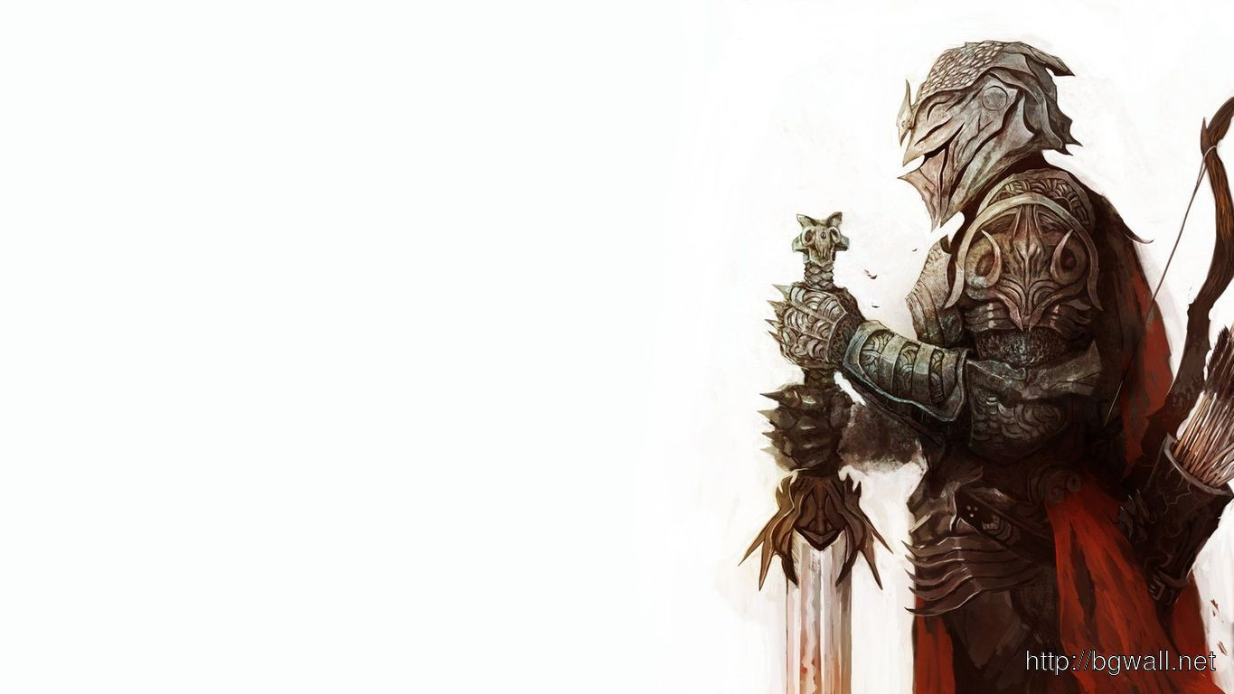 Download Knight Holding A Sword Wallpaper Full Size