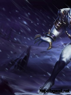 Download League Of Legends Tundra Hunter Warwick Wolfman Wallpaper Full Size