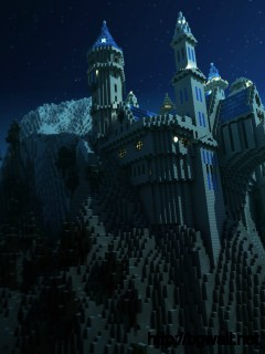 Download Minecraft Wallpaper Castel High Resolution Full Size