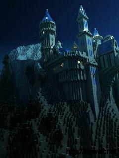 Download Minecraft Wallpaper Castel High Resolution Full Size