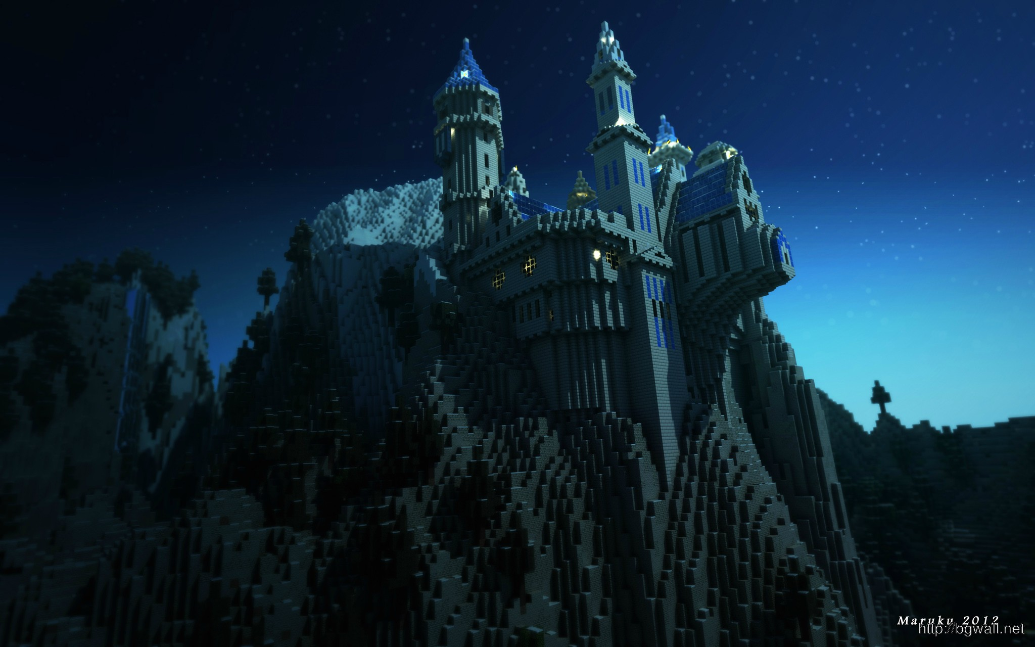 Download Minecraft Wallpaper Castel High Resolution Full ...