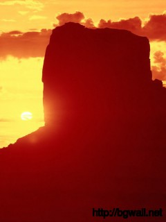 Download Monument Valley Sunset Wallpaper Full Size