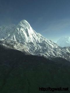 Download Snowy Mountain Wallpaper Full Size