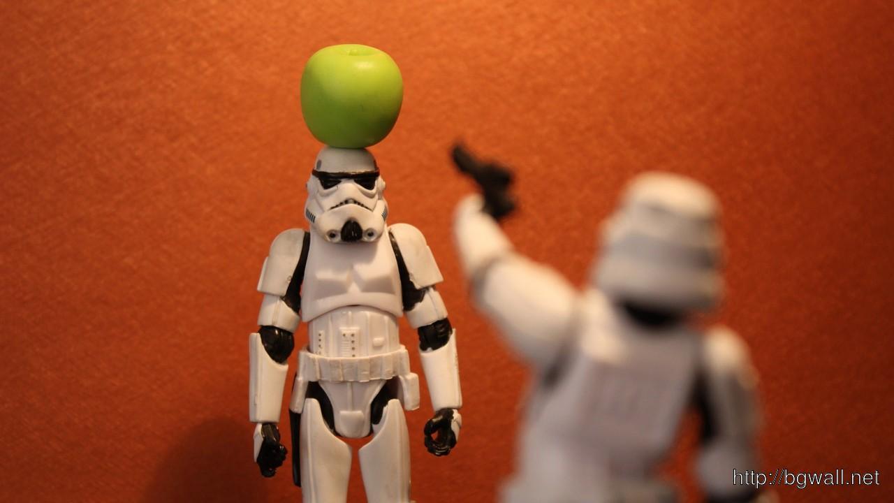 Download Stormtrooper Toys Wallpaper