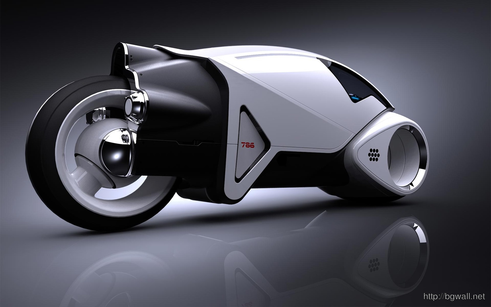 Download Tron Legacy Light Cycle Prototype Wallpaper Full Size