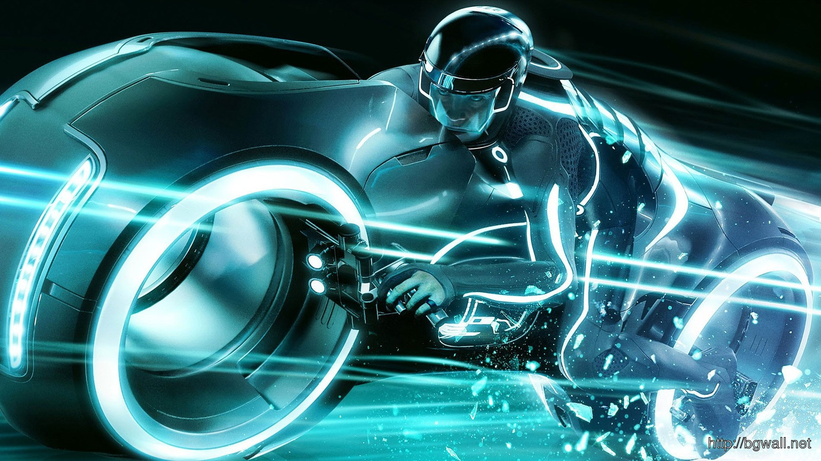 Download Tron Light Cycle Full Size