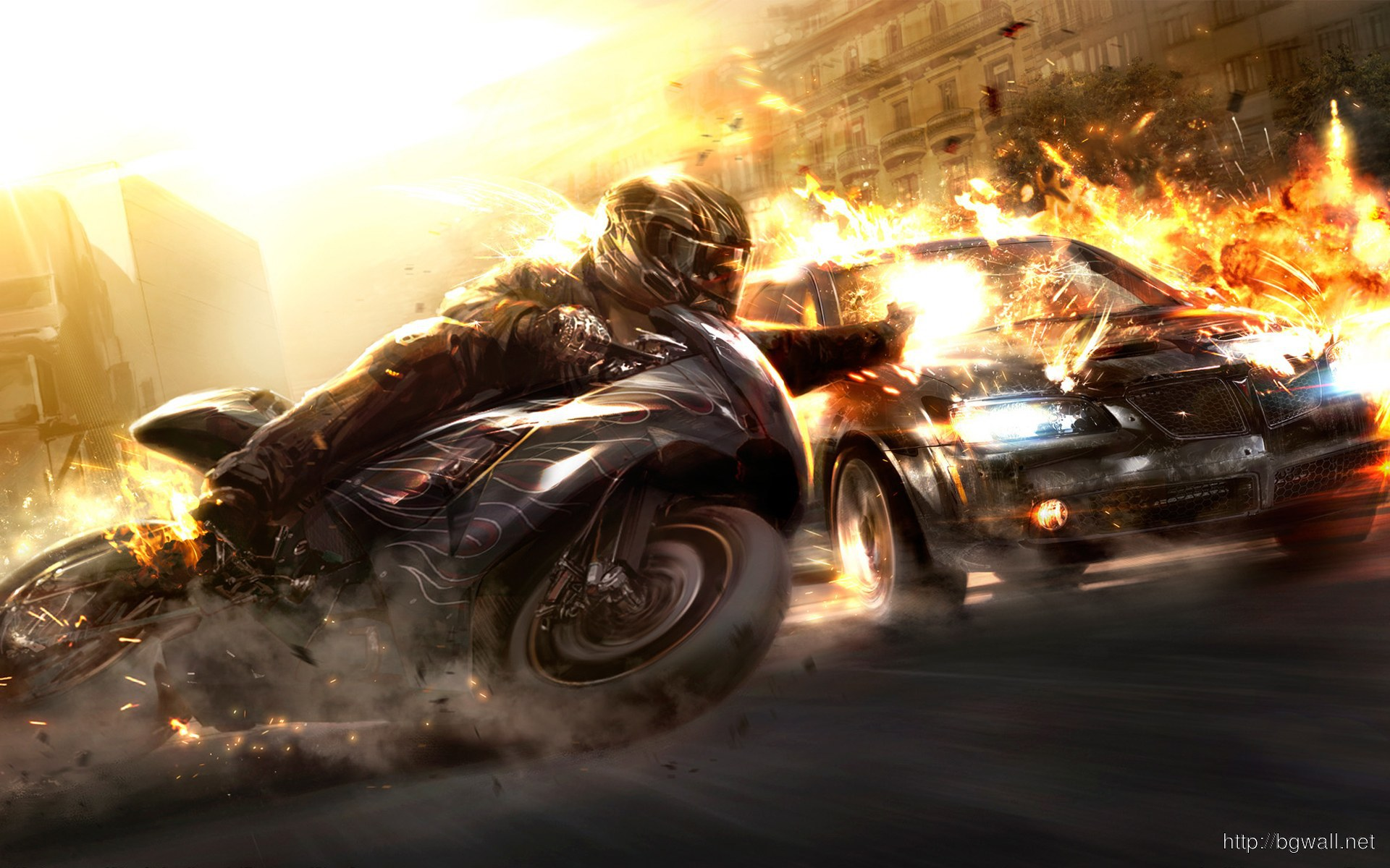 Download Wheelman Wallpapers High Resolution Full Size