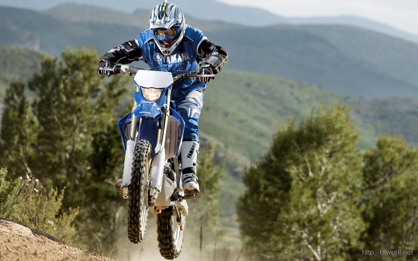 Download Yamaha Motocross Bike Wallpaper Full Size