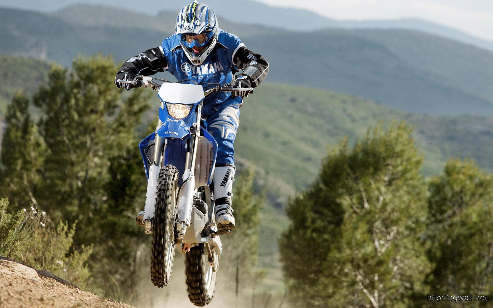 Download Yamaha Motocross Bike Wallpaper Full Size