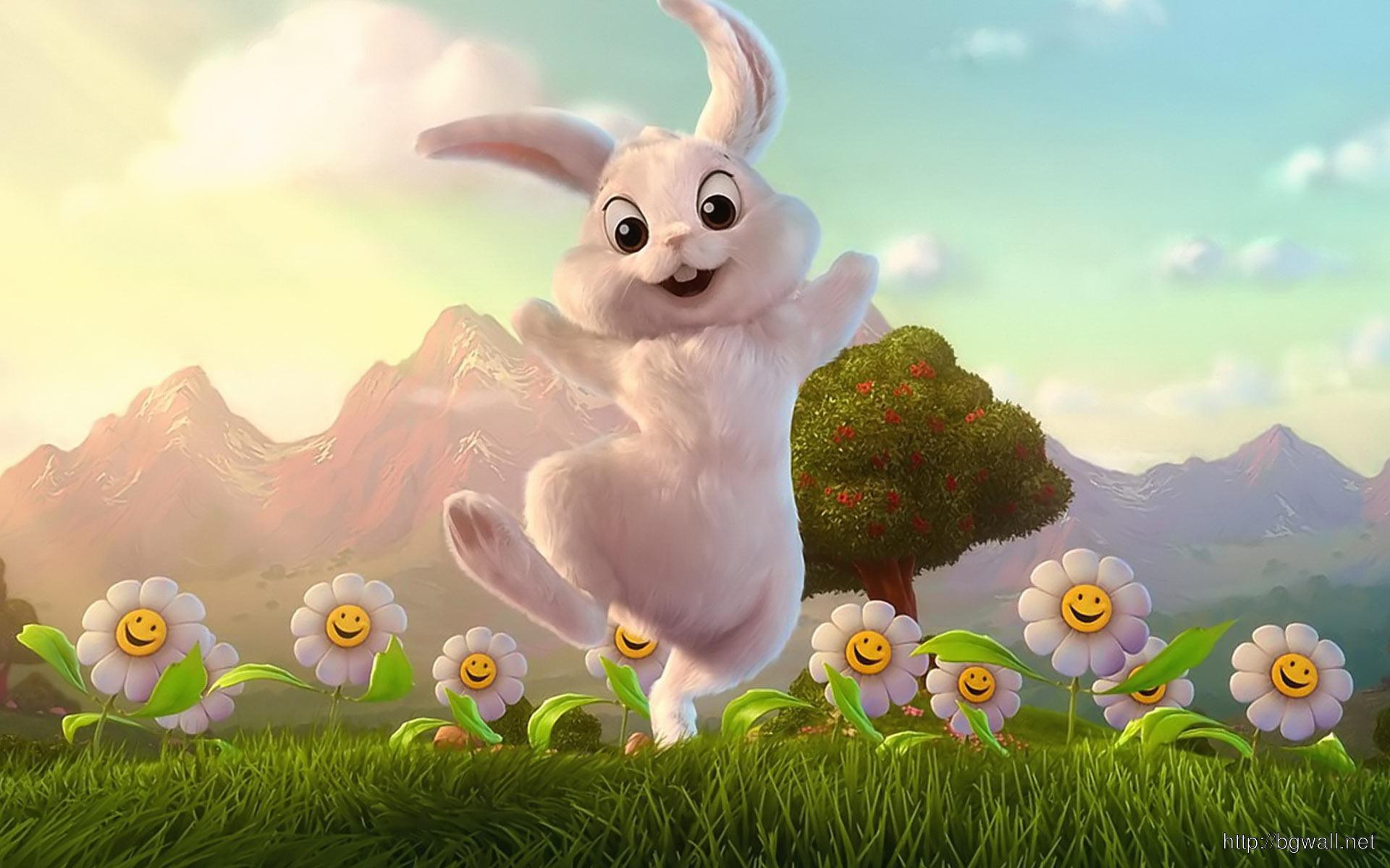cute easter bunny desktop - photo #19