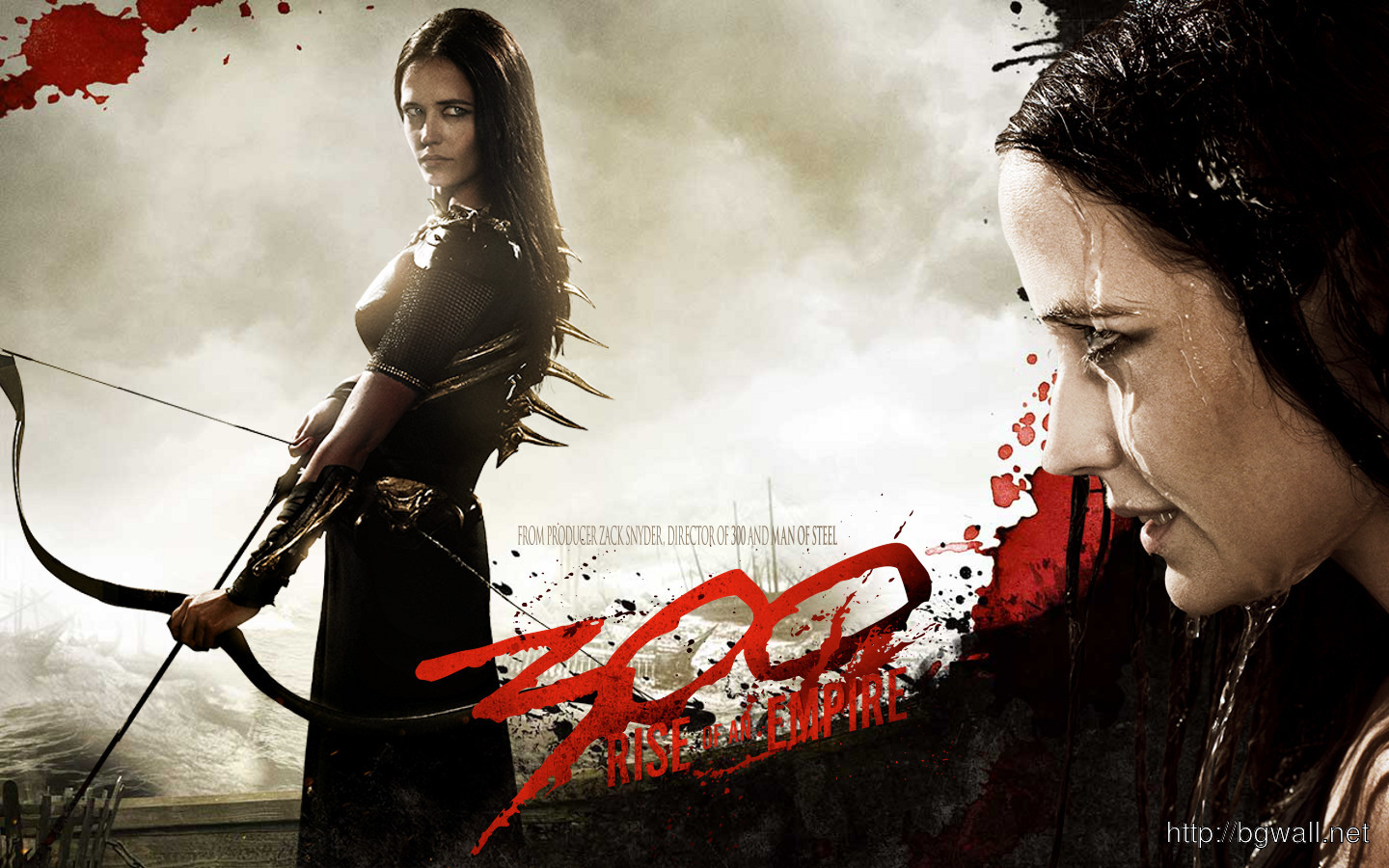 Eva Green In 300 Rise Of An Empire Wallpaper – Background