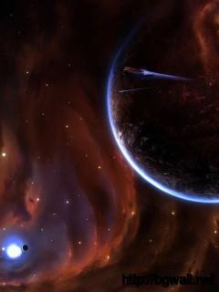 Exploding Planet Wallpaper Full Size