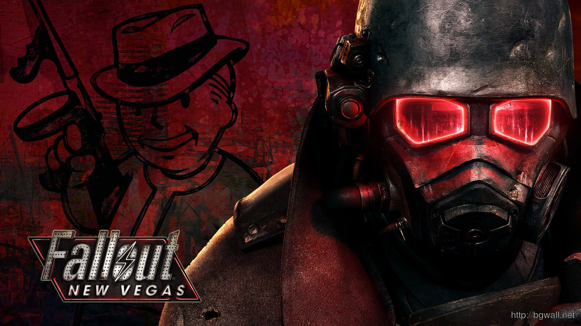 Fallout New Vegas Game Background Full Size
