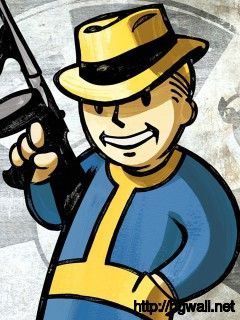 Fallout New Vegas Vault Boy Full Size
