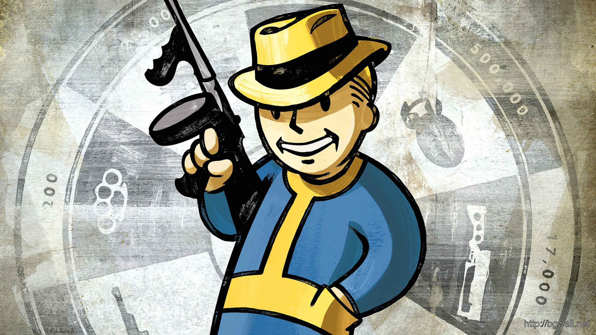Fallout New Vegas Vault Boy Full Size