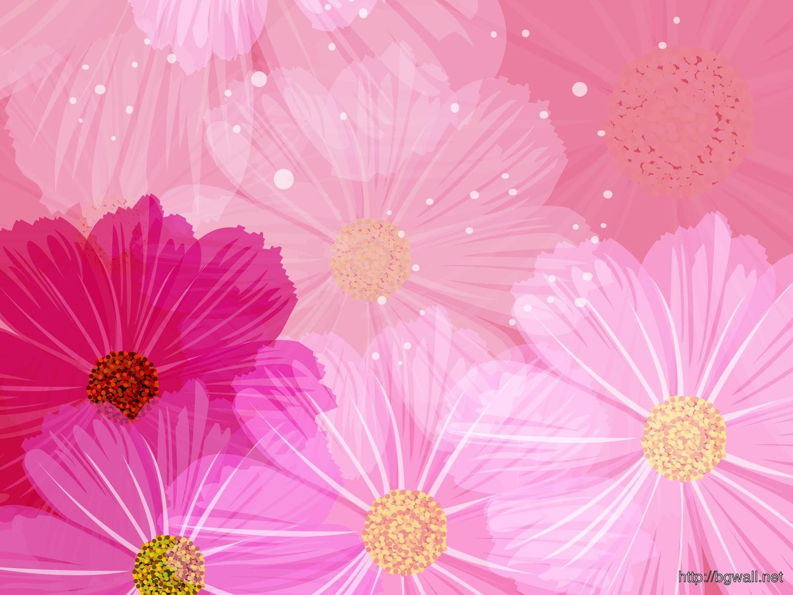 Floral Art Full Size