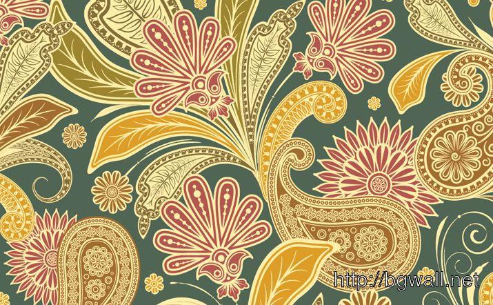 Floral Vintage Pattern 1 Full Size