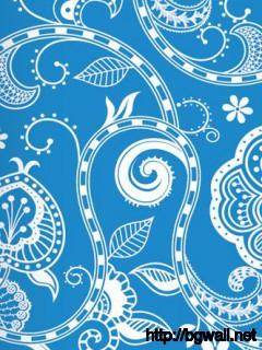 Floral Vintage Pattern Full Size
