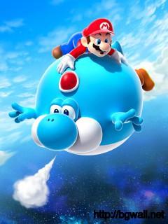 Flying Mario Full Size
