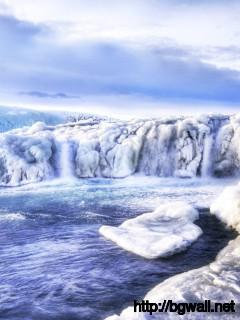 Frozen Waterfall Wallpaper 8217 Full Size