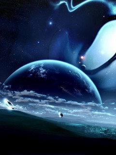 Futuristic Planet Wallpaper 2323 Full Size