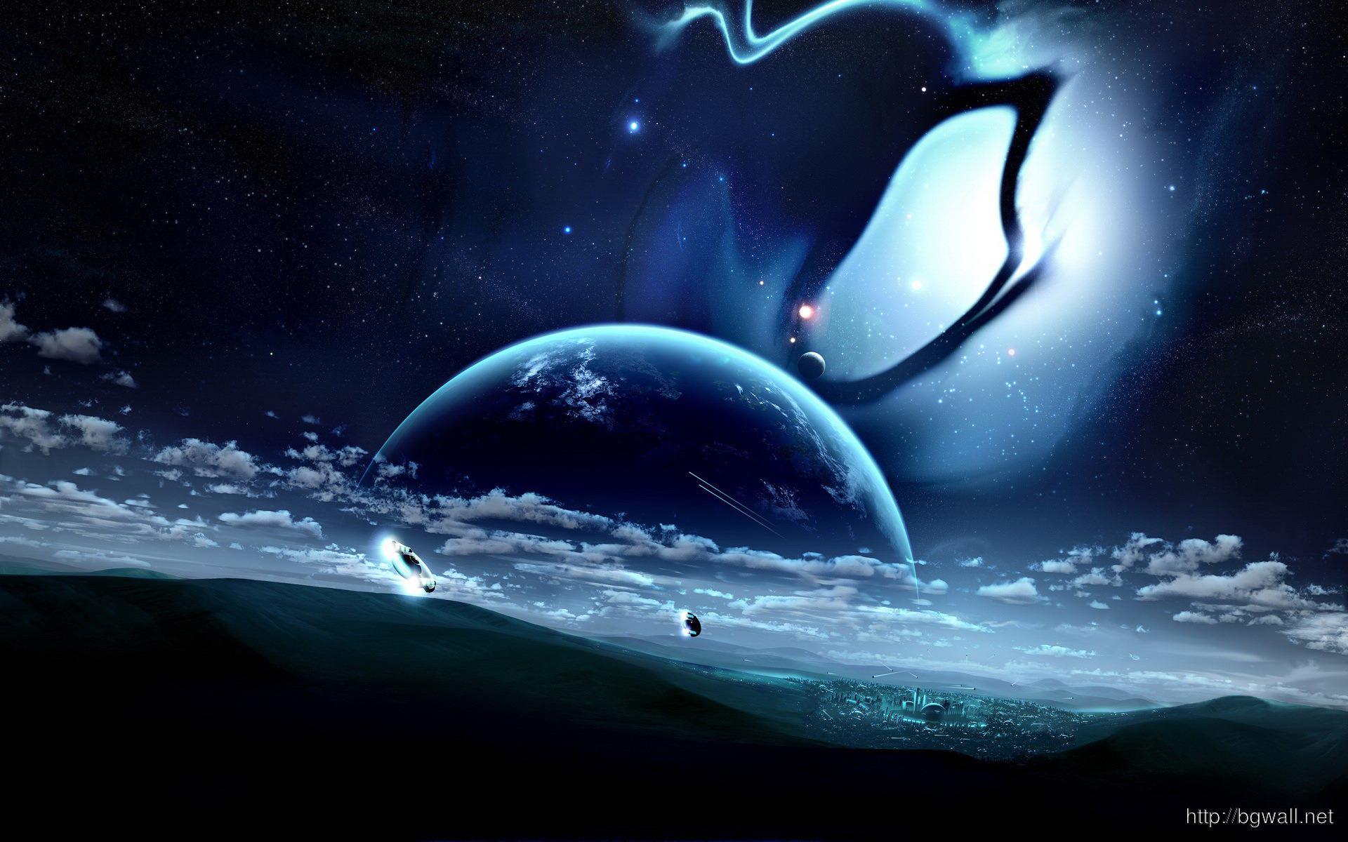 Futuristic Planet Wallpaper 2323 Full Size
